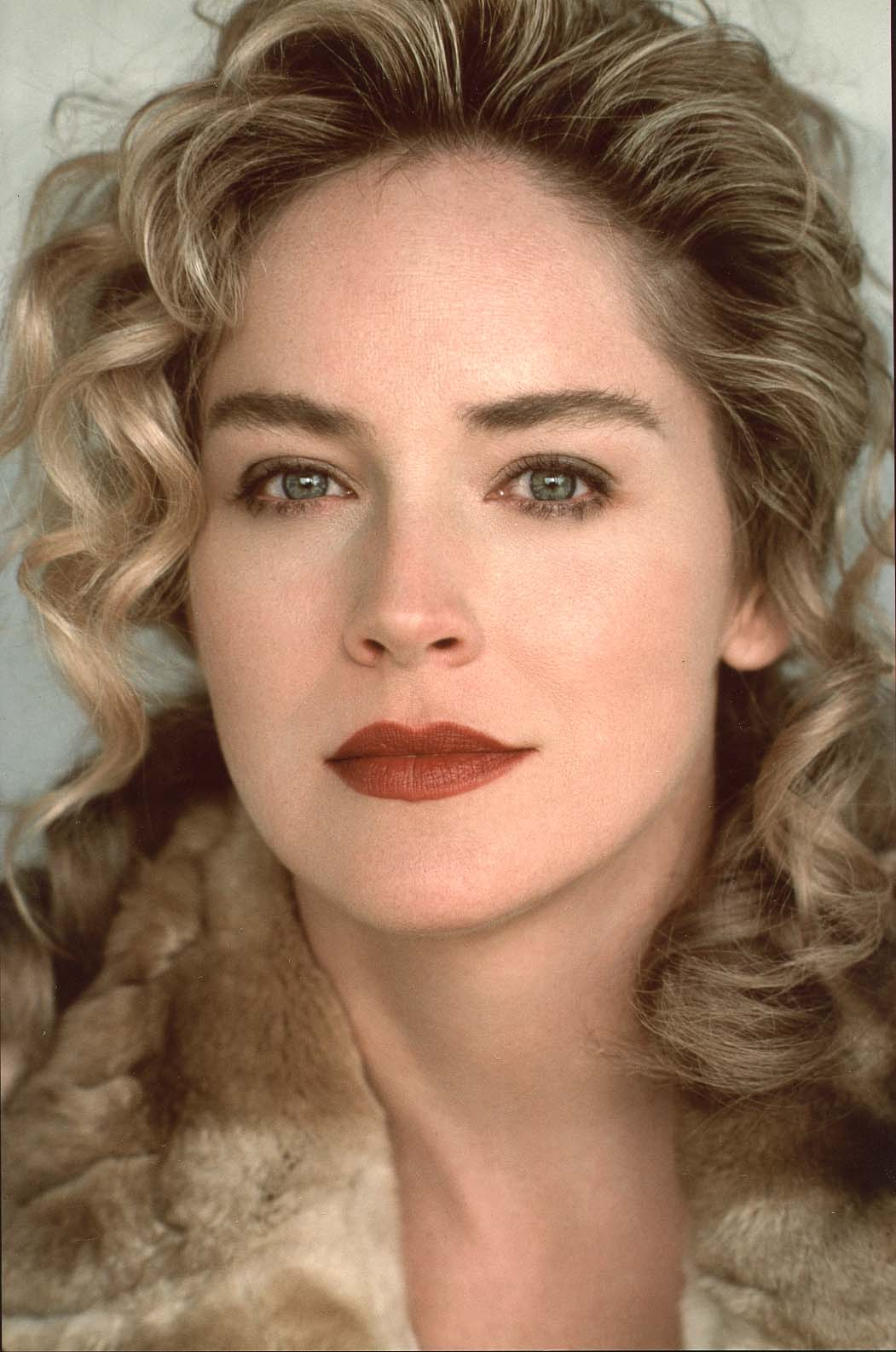 Sharon Stone eyebrows